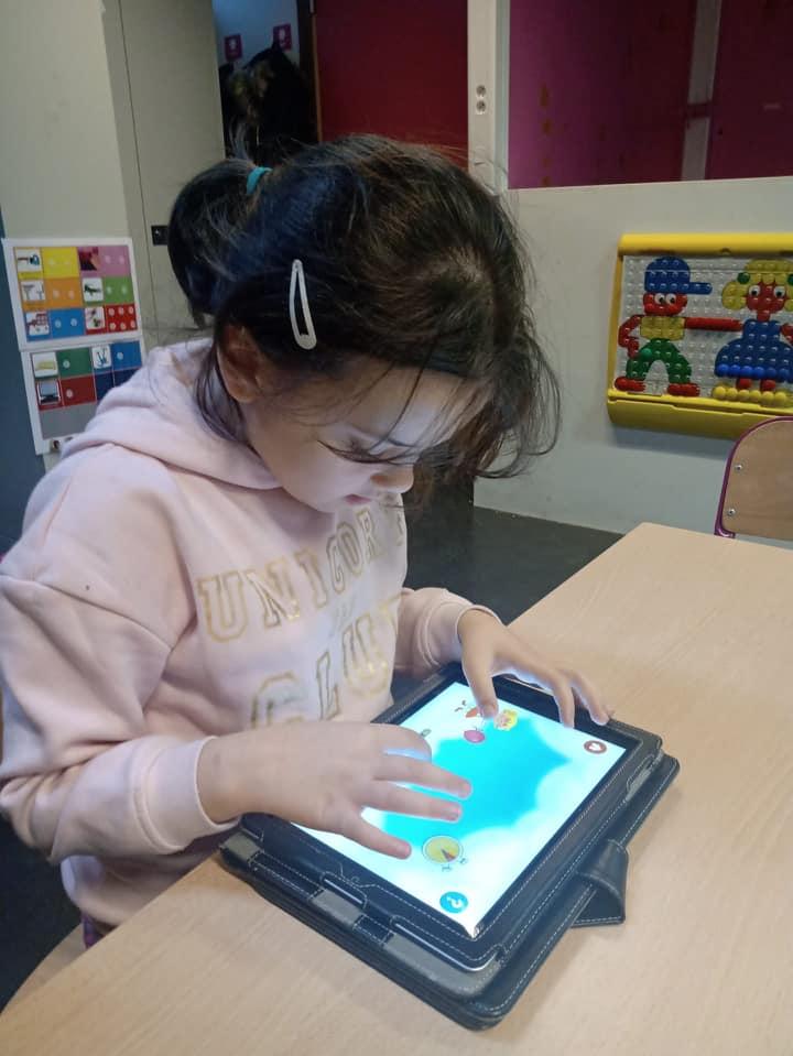 ICT in de roze klas